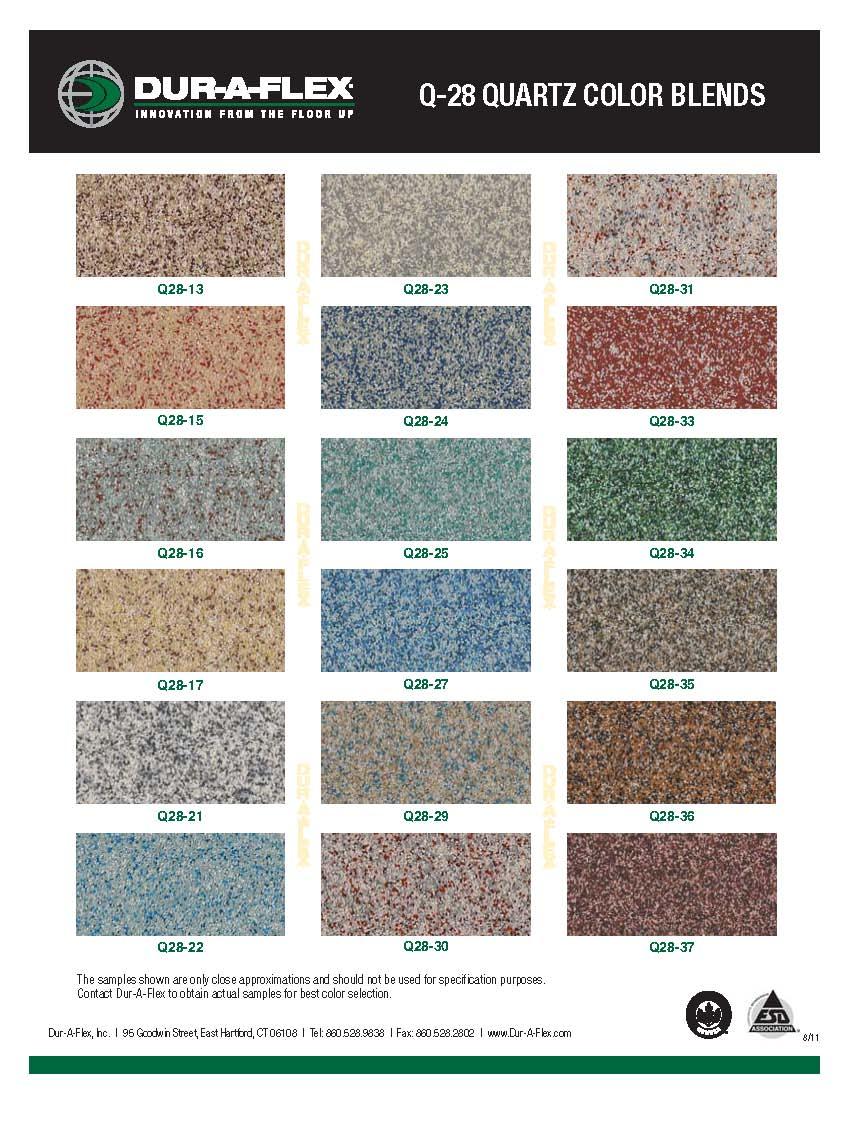 Q 28 Quartz Color Blends